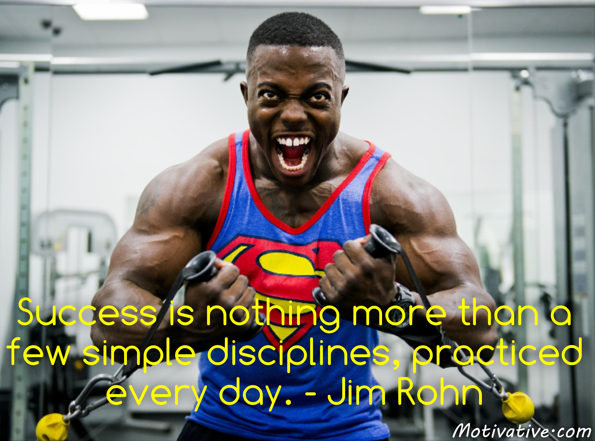 Success is nothing more than a few simple disciplines, practiced every day. – Jim Rohn
