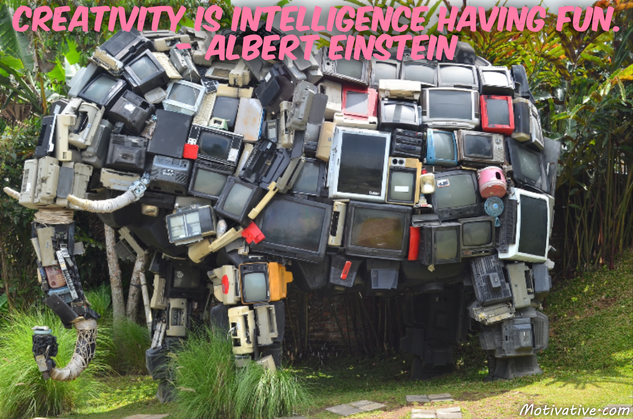 Creativity is intelligence having fun. – Albert Einstein