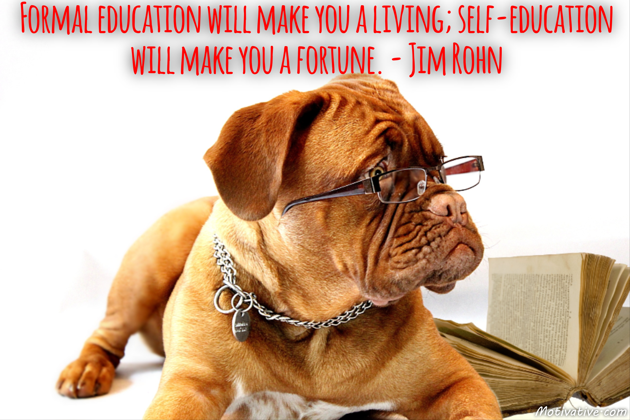 Formal education will make you a living; self-education will make you a fortune. – Jim Rohn