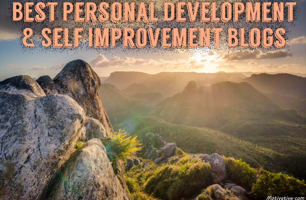 personal development blogs, self improvement blogs